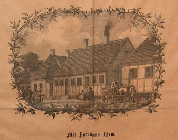 H.C. Andersens Barndomshjem. Foto Lars Bjørnsten 2004
