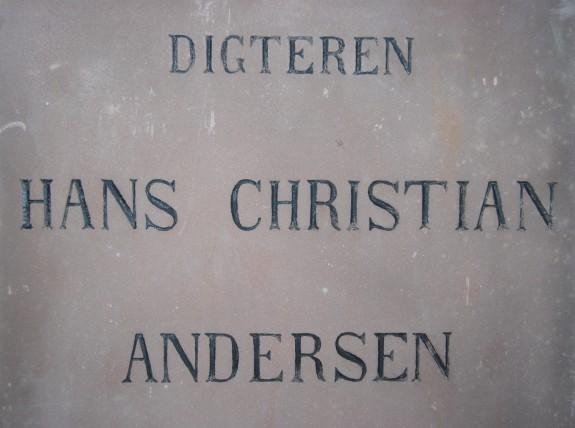 Digteren Hans Christian Andersen