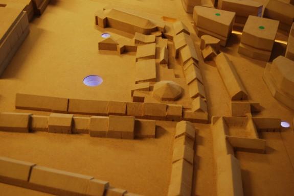 TBT-projekt model.Foto: Lars Bjørnsten 2012