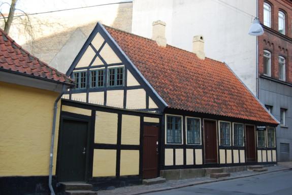 h.C. Andersens Barndomshjem Munkemøllestræde Odense: Foto Lars Bjørnsten Odense 2012