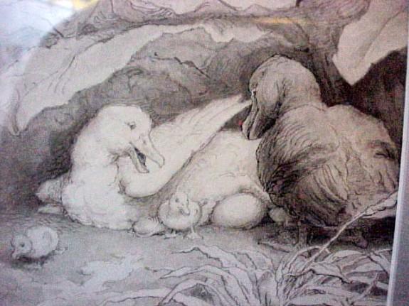 Hans Tegner: Den grimme Ælling – The Ugly Duckling