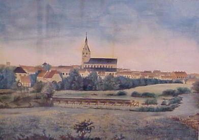 August Petersen. Odense syd. 1822.