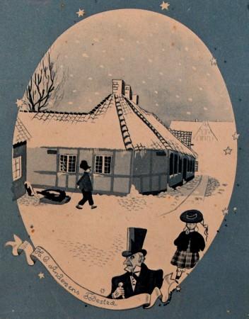 H.C. Andersens Fødested. Set på Tidens Samling. Foto Lars Bjørnsten 2005