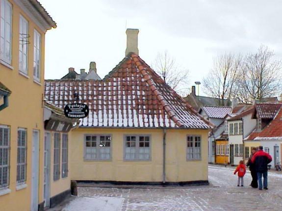 H.C. Andersen Hus i Hans Jensens Stræde. Foto: Lars Bjørnsten 2012
