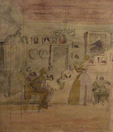 Jenny Lind synger for H.C. Andersen