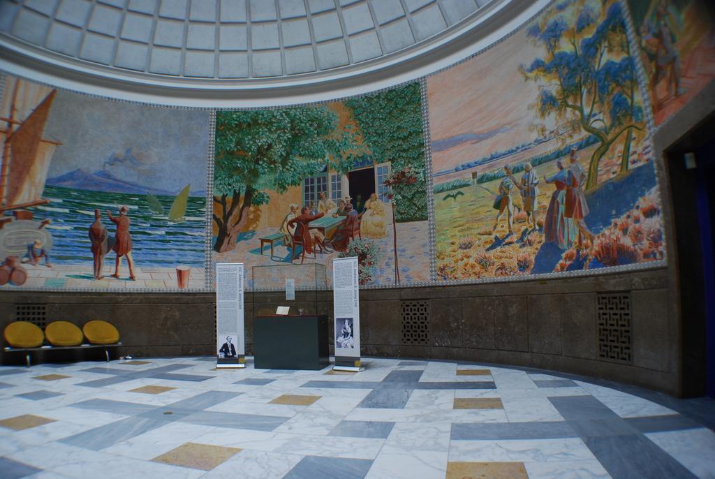 Mindehallen – Kuppelsalen – Rotunden i H.C. Andersens Hus