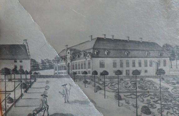 Det ældre Glorup Slot. Foto: Lars Bjørnsten 2005