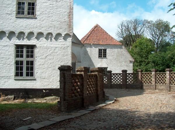 H. C.Andersens kammer og kapellet på herregården Nr. Vosborg ved Ringkøbing