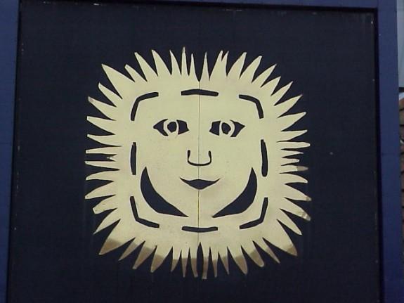 Symbol ved H.C. Andersens hus. Foto Lars Bjørnsten Odense