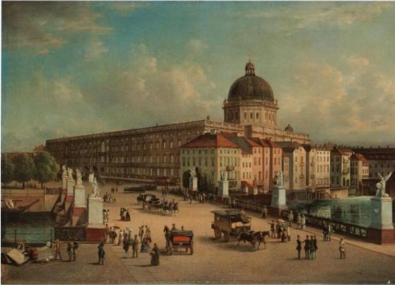 Stadtschloss Berlin efter 1853 Kilde: Wikipedia