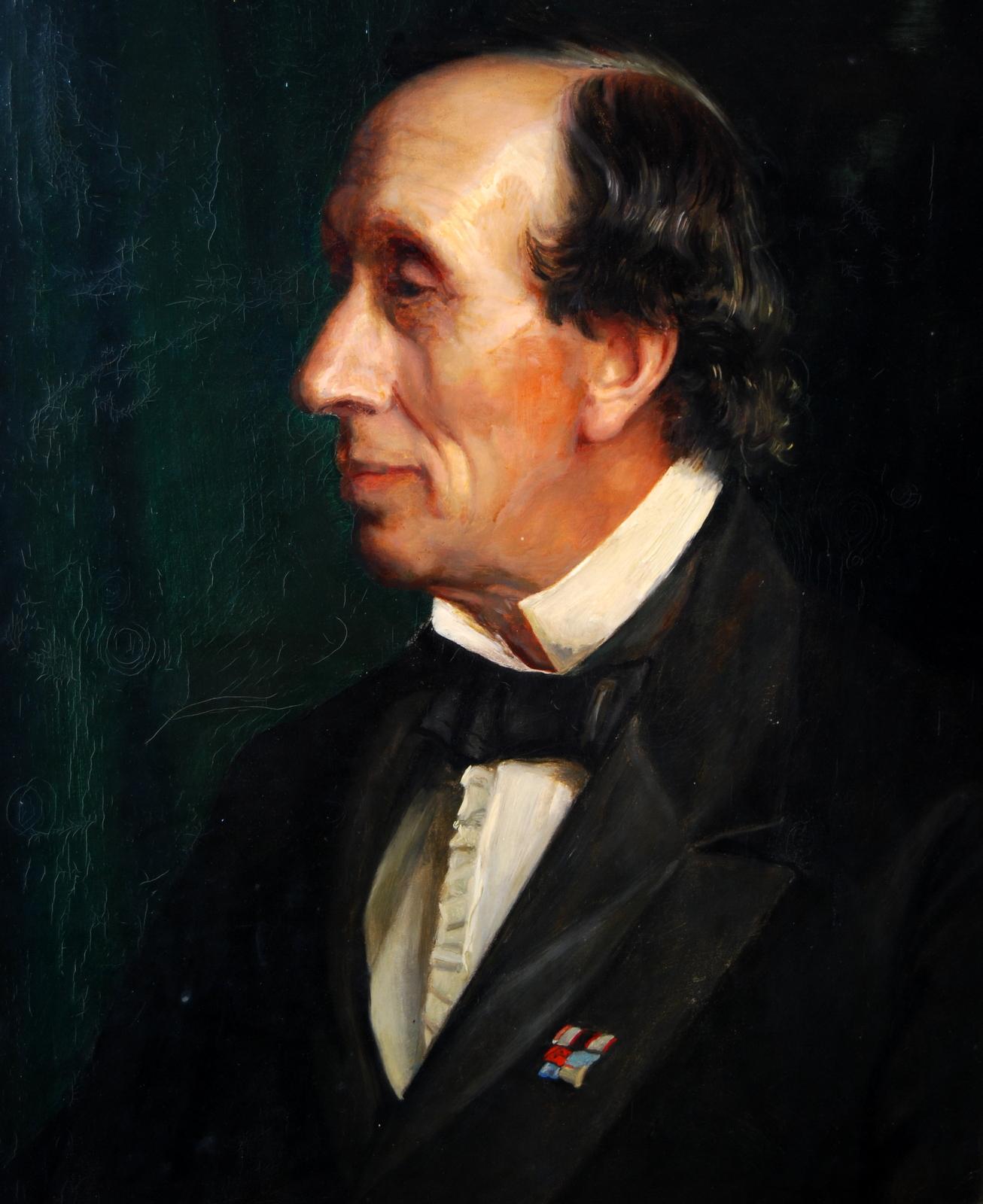 H.C. Andersen. Foto Lars Bjørnsten