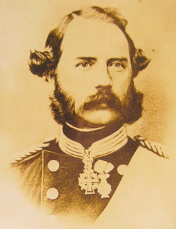 Kong Christian den 9. (1818-1906) kone og Europas svigerfar.