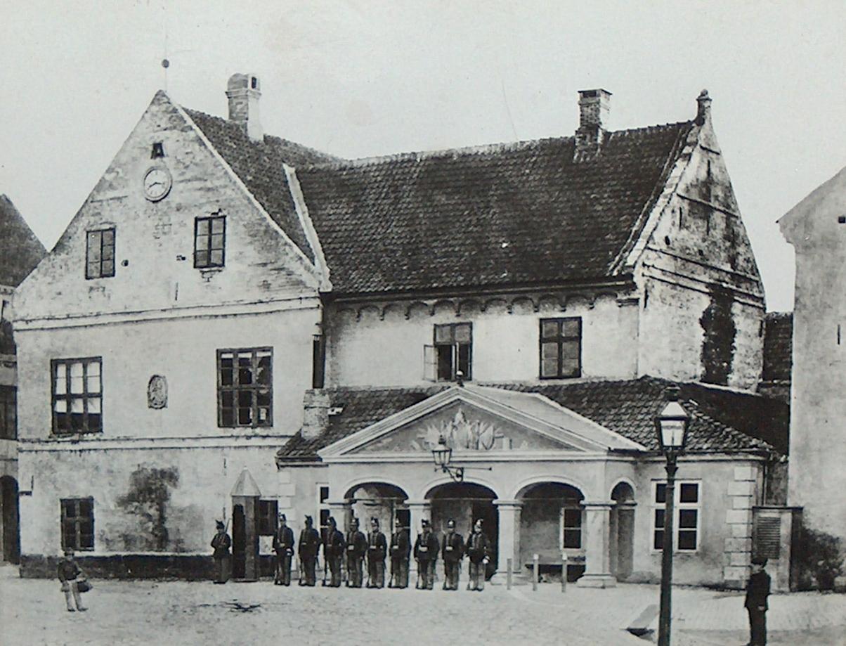 H.C. Andersen i Odense den 4. december 1867 | H.C. Andersen Information