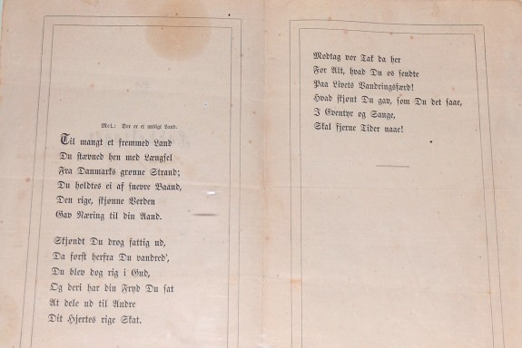 Sang fakkeltog 6.dec. 1867. Foto Lars Bjørnsten Odense