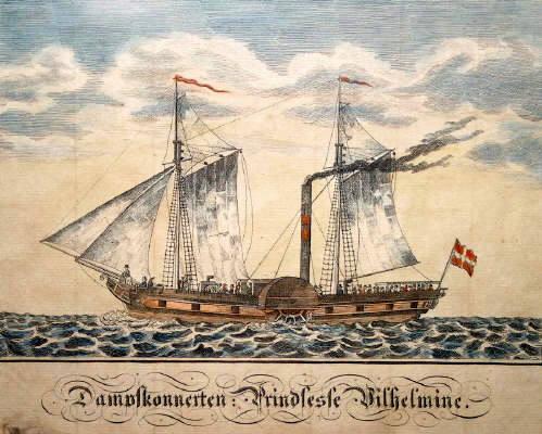 """""""Prindsesse Wilhelmina"""" 1831. Foto Lars Bjørnsten Odense"""