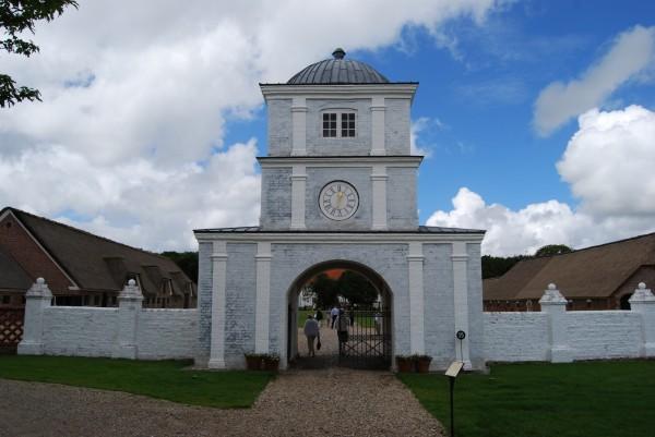 Nørre Wosborg porttårn. Foto Lars Bjørnsten 2008