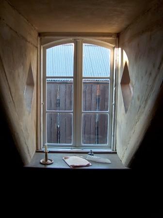 H.C. Andersens værelse i Vingaardsstræde. Foto Lars Bjørnsten Odense 2005