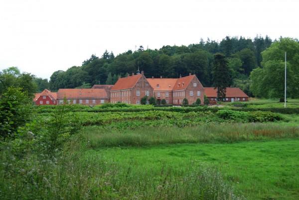 Herregården Tirsbæk ved Vejle. Foto Lars Bjørnsten 2007