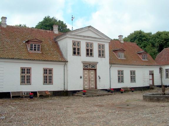 Nørre Wosborg. Foto Lars Bjørnsten 2003
