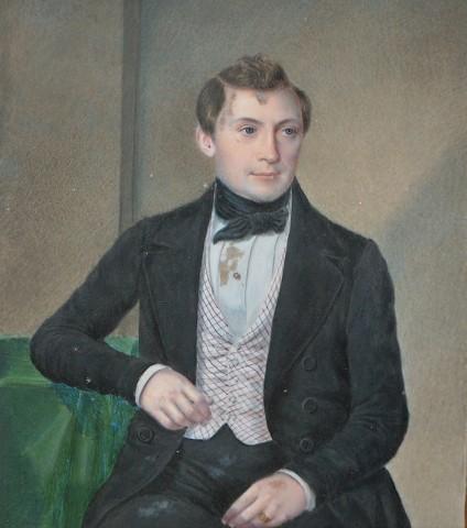 Carl. B. Lorck 1814 -1905 var en dansk boghandler og generalkonsul. Foto Lars Bjørnsten Odense 2004