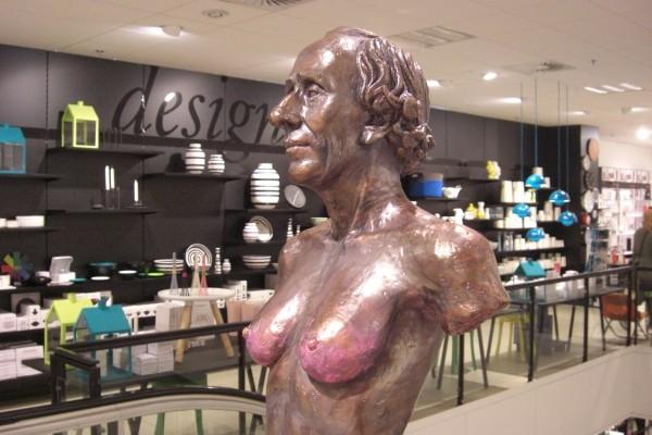 """""""H.C. Andersen"""". Foto Lars Bjørnsten Odense 2012"""
