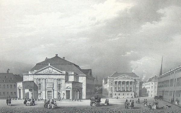 Det Kongelige Teater. Foto Lars Bjørnsten Odense