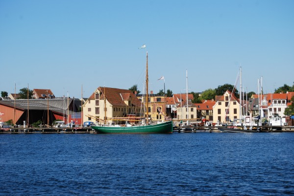 En del af Svendborg Havn 2009. Foto Lars Bjørnsten Odense
