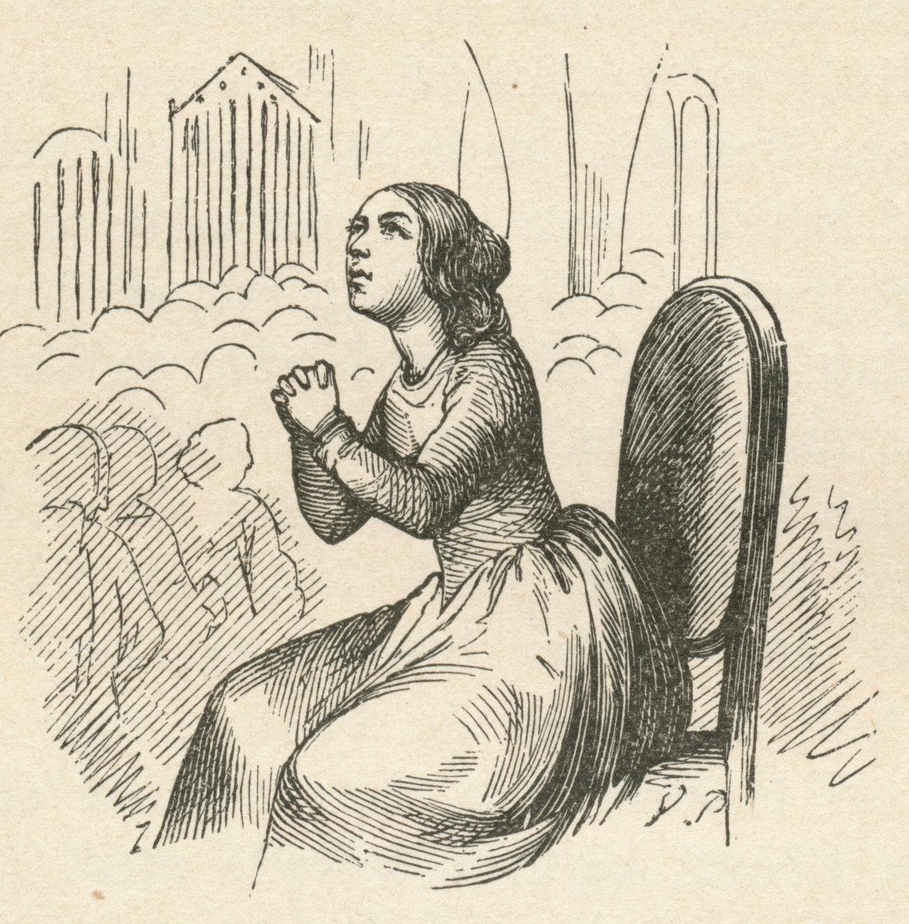 """3728fafb4a3 Illustration af H.C. Andersens eventyr """"De røde Sko"""" (1845) udført af  tegneren Vilhelm Pedersen. English: The Red Shoes . By Hans Christian  Andersen. """"…"""