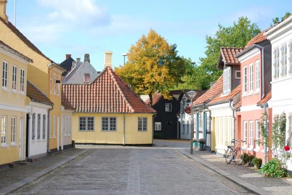 H.C. Andersen Hus 29. september 2008. Foto Lars Bjørnsten Odense
