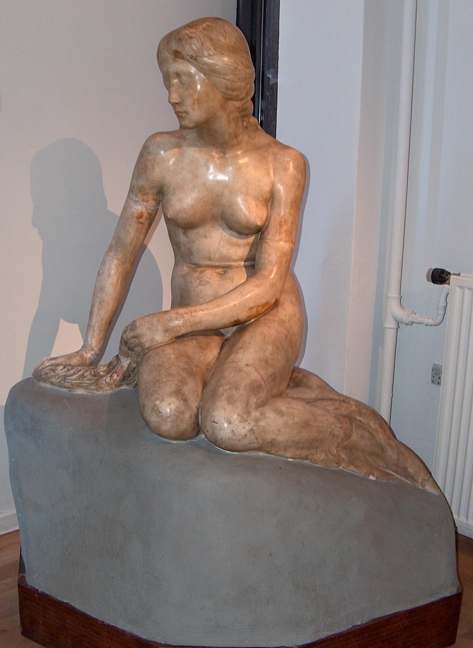 Den lille Havfrue. Foto Lars Bjørnsten Odense 2004