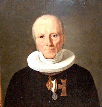 Biskop J.P. Mynster malet af Constantin Hansen