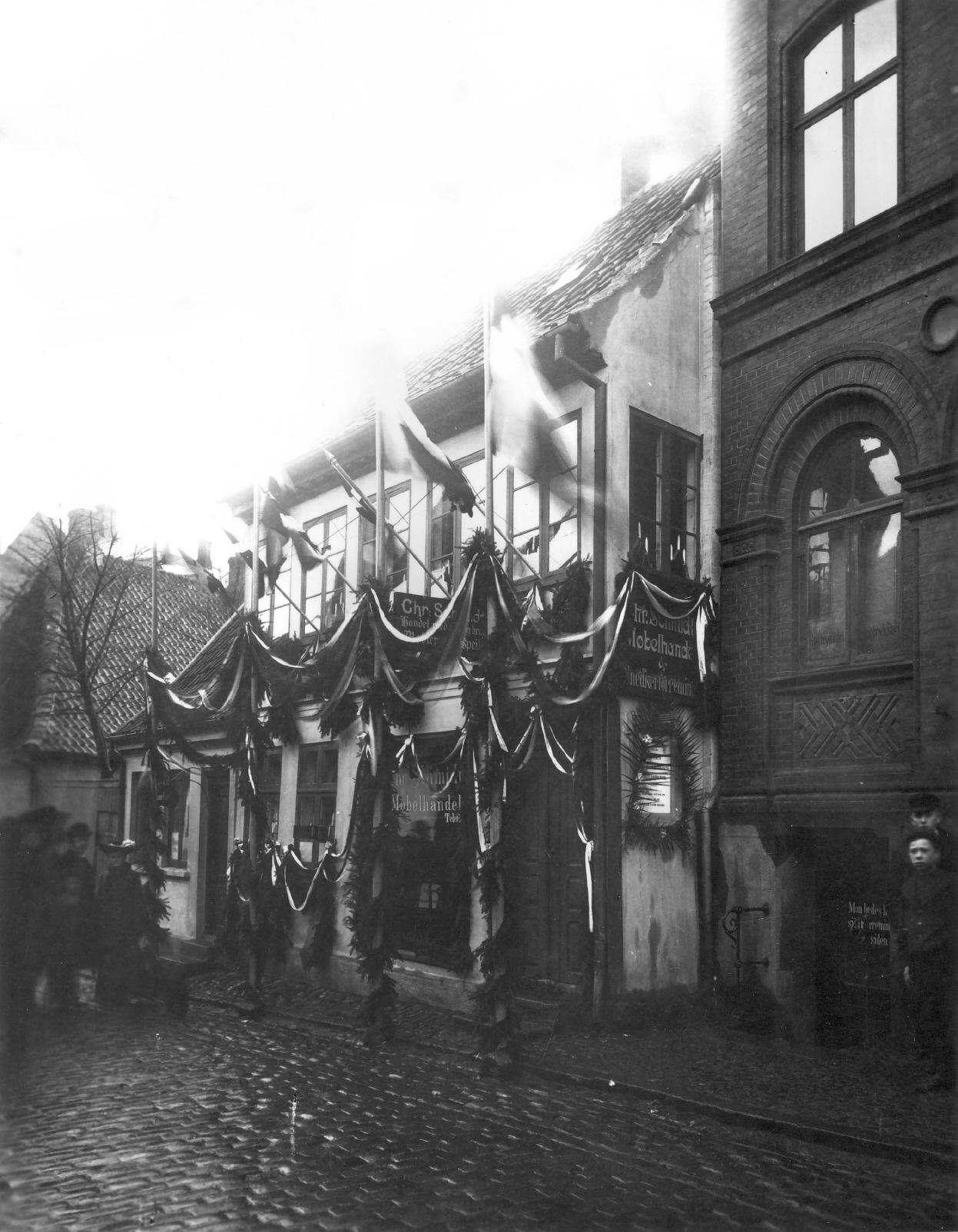 H.C.Andersens barndomshjem 1905