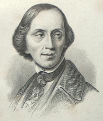 H.C. Andersen. Maleri af August Grahl februar 1846