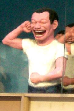 HK_CWB_Times_Square_Yue_Minjun_Art_Exhibition_2008_Evening_2_ax1