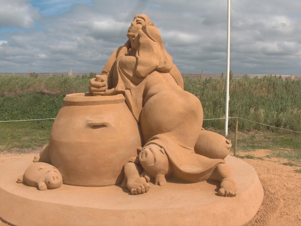 svinedrengen-sand