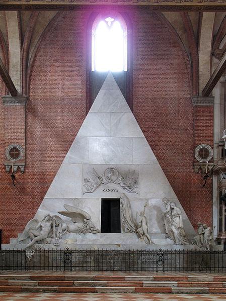 449px-Canova_tomb