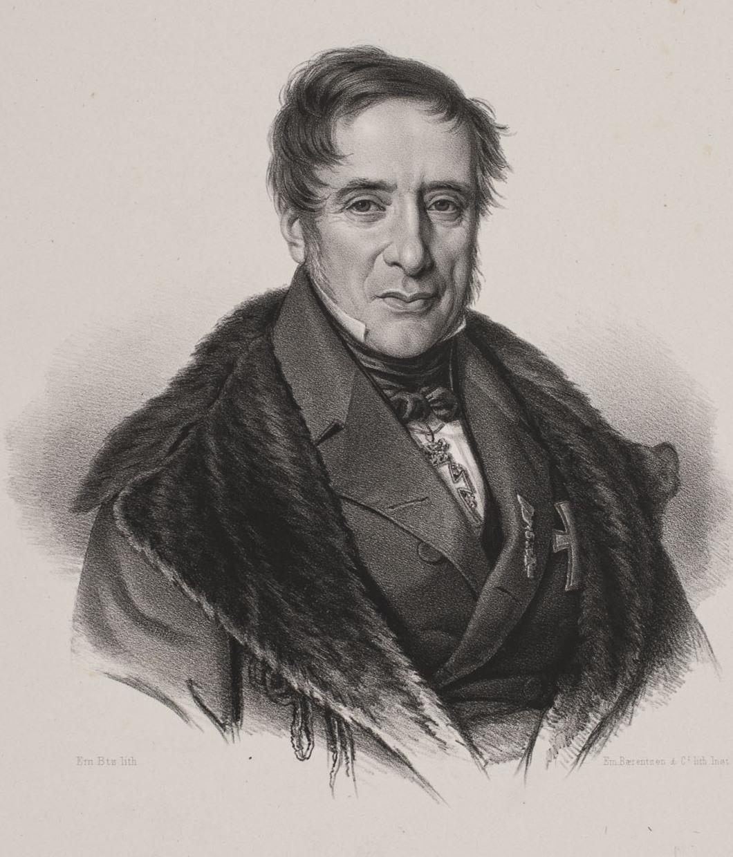 Emil Baerentzen (1799-1868), Adam Christopher Holsten-Charisius, 1840's
