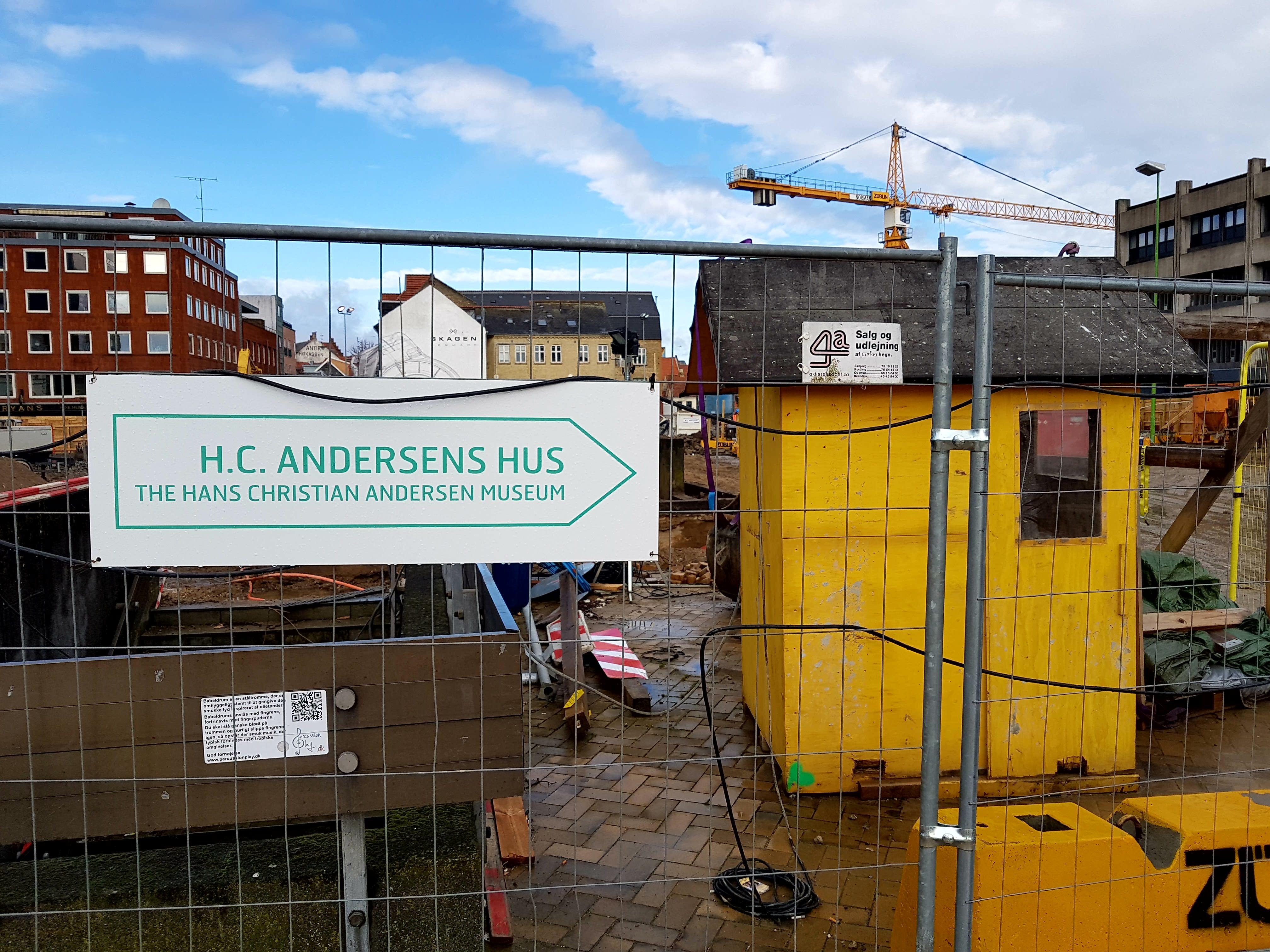 På vej til H.C. Andersens Hus i Odense Centrum | H.C. Andersen Information