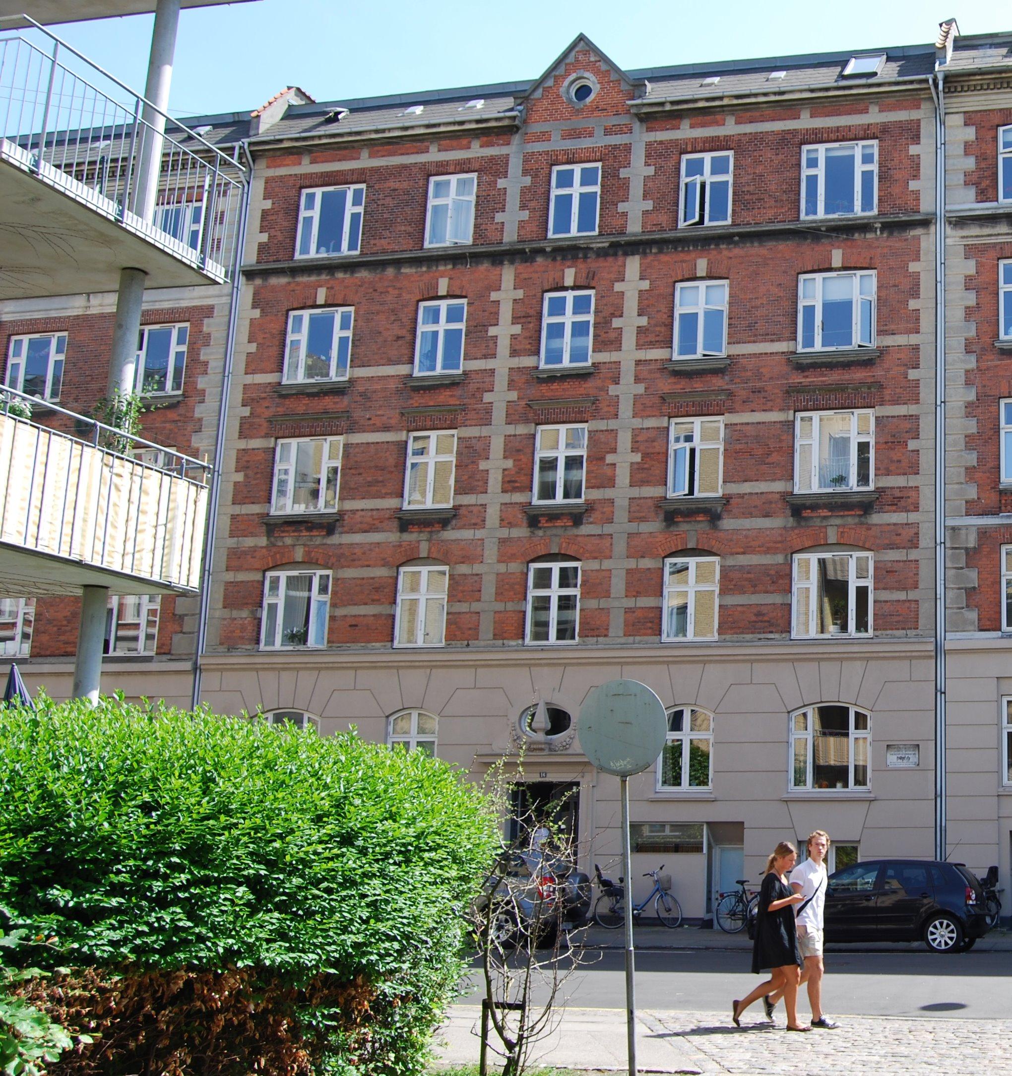 Gammel Kalkbrænderi Vej 16 i København | H.C. Andersen Information